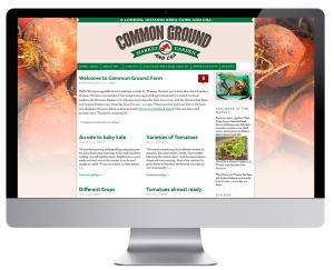 Food Farm Website Design