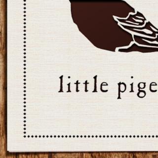 Bird Logo Design - Little Pigeon
