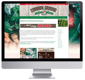 Local Organic Farm Website