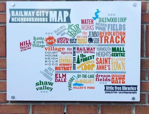 Neighbourhood map of St. Thomas